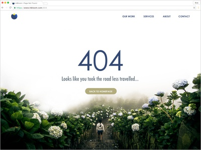 404 - Road Less Travelled daily ui web error 404
