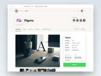 Startup Detail Screen