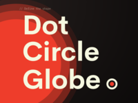 Define The Shape /  Dot 👉🏼 Circle 👉🏼 Globe