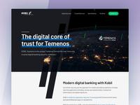 KOBIL for Temenos - Landing Page
