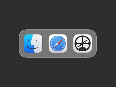 Roam Research - Big Sur Icon figma mac macos icon big sur