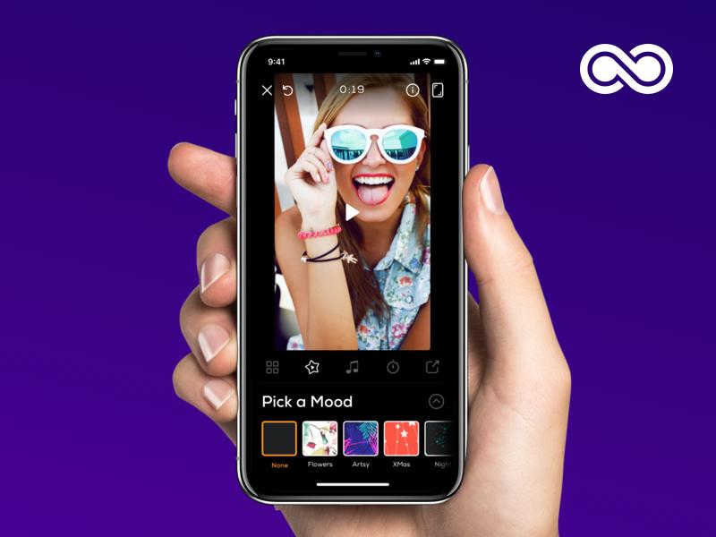 Slide Show iphone sketch design app ios ux ui