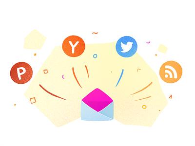 Illustration for an upcoming product 👀 branding procreate website illustration logo rebrand product