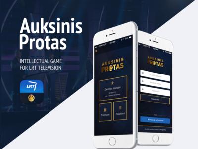 Auksinis protas mobile app