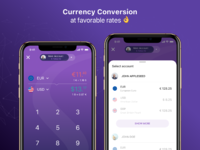 Currencyconversion paysera 2x