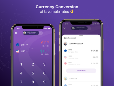Currency Conversion ios bank mobile banking finance application finance finance app mobile bank mobile payments fast payments between accounts templates pay pay contact currency converter currency transactions wallet mobile wallet paysera budget