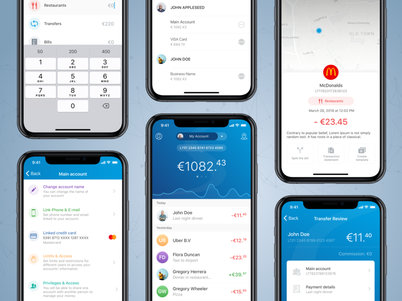 Paysera Mobile App budget paysera mobile wallet wallet transactions currency currency converter pay contact pay templates between accounts fast payments mobile payments mobile bank finance app finance finance application mobile banking bank ios