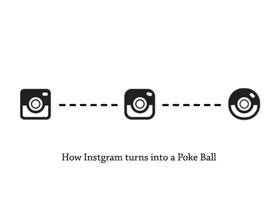 How Instagram turns into a PoKe Ball