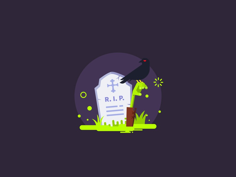 Halloween dribbble