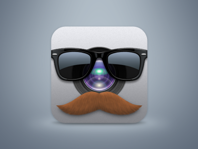 Rejected icon iphone ios disguise moustache rejected sunglasses whatever