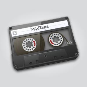 Audio Cassette audio cassette software client work icon tape mac adobe illustrator vector
