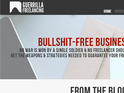 Guerrilla freelancing 2014 version