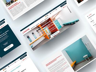 KALYSSE - Web design uix rouen lille france website design webagency agency website website web webdesign ui ux