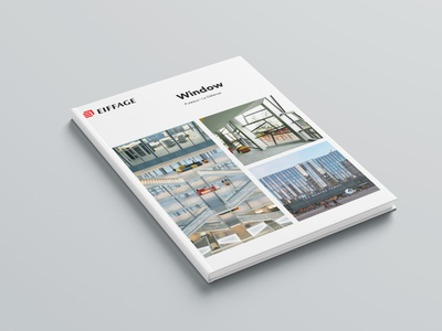 EIFFAGE - Branding Book & Edition book immobilier edition agency print agency print design print design magazine cover