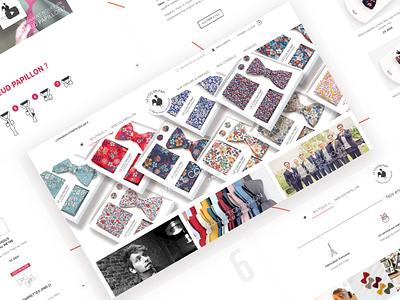 LE COQ EN PAP Website webdesign web ux ui agency webagency design agency website website