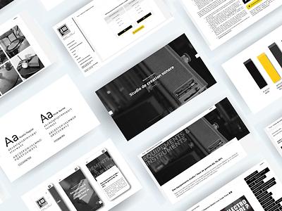 MELODIUM STUDIO Website - Desktop version website design website webdesign web ux ui agency webagency design agency website