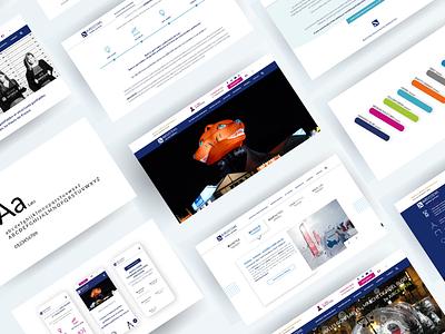 AIRSYSTEMS Website webdesign ux ui website web webagency website agency
