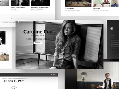 CAROLINE COO Website webdesign ux ui website web webagency website agency