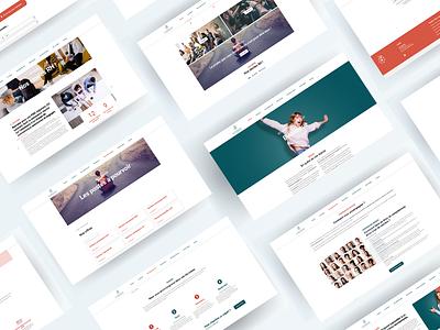 Web design & Branding / Recruitment agency beaver wordpress branding webdesign webagency