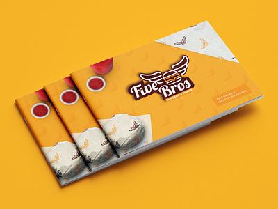 Branding Guide Fast Food typography logo branding design