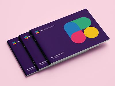 Branding Guide Educational Centre typography logo design branding