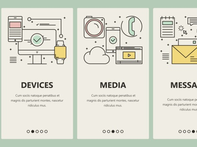 Business communication onboarding screens uxui ux ui design ux ui ux ui design icon design icons smartphone onboarding screen onboarding ui banner vectorgraphics technology vectorgraphics.io vector illustration