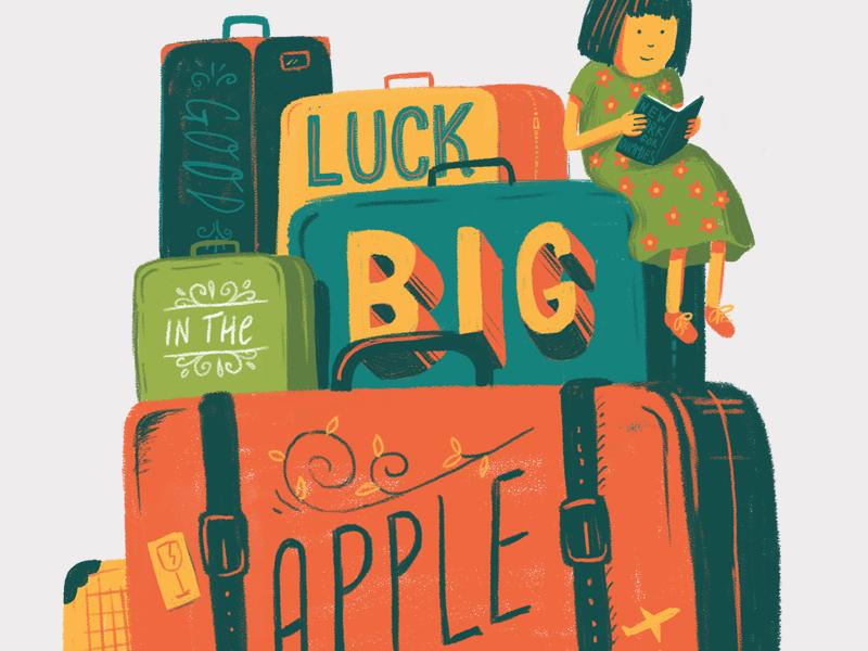 Big Apple illustration photoshop wacom