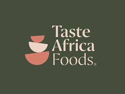 Taste Africa Foods design identity vector icon logo design branding logo