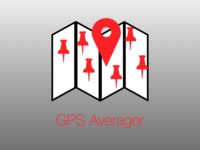 GPS Averager App Icon
