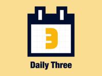 Daily Three Icon