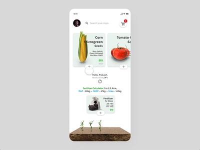 IGrow Farming - Payment Checkout packing mobile app design mobile ui checkout agriculture farmer farmers market mobile app minimal animation icon graphic design illustration brand designer ux ui design