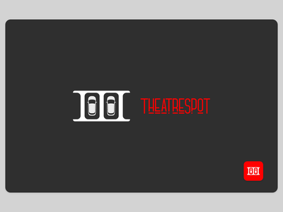 TheatreSpot - A New Cinema Experience (LogoDesign) work in progress product design cinema drive in logodesign theatre identity minimal illustration icon graphic design brand designer logo design branding