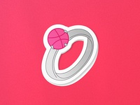 Dribbble Sticker Pack Playoff