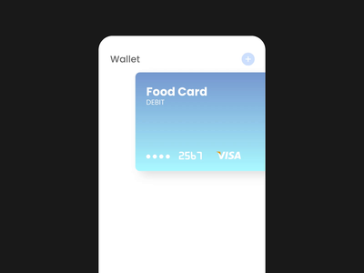 Wallet - concept