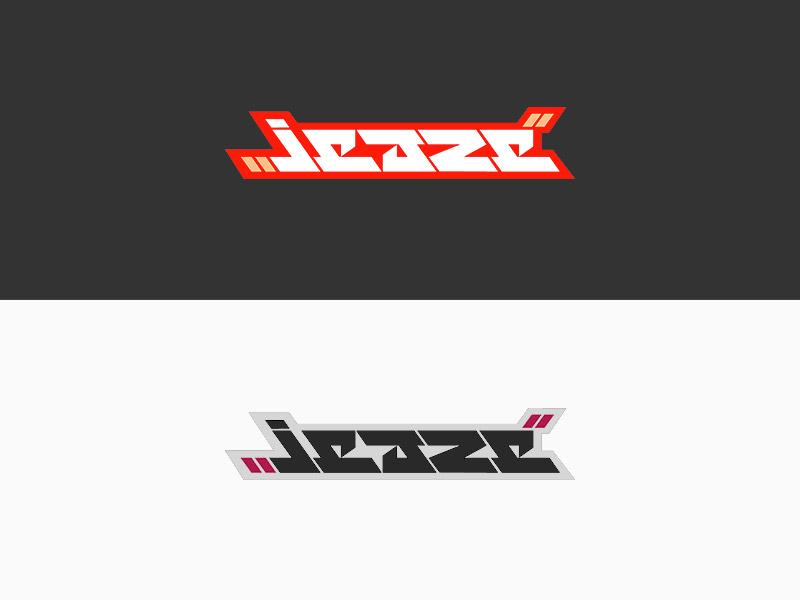 Logotype - Jeaze typography type logotype logo jeaze
