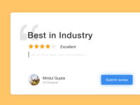 Customer feedback form exploration
