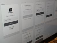 UrbanClap Partner App Wireframes