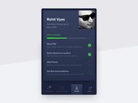 Partner profile visual exploration