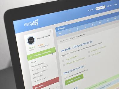 Redesign EasyDay (WIP) redesign black creative sidebar easyday ui flat design montserrat admin icons outline dashboard