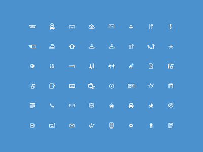 EasyDay — Icons Set black creative icons icon vector glyphs retina outline service delivery contact mail phone