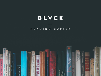 Black Creative — Reading Supply blog web website webdesign tumblr reading posts tips notes cover theme supply