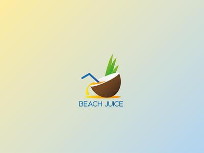 Beach Juice logodlc logo dailylogo dailylogochallenge