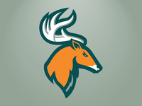 Portland Stags Primary Logo