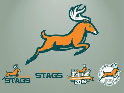 Portland Stags Secondary Logos