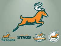 Portland Stags Secondary Logos