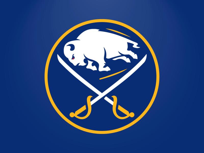 Sabres Logo Rebound hockey sabres buffalo sports branding