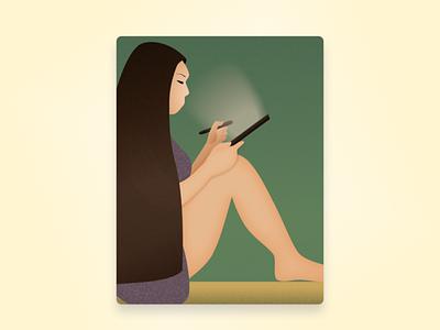 Self Portrait illustration adobe illustrator
