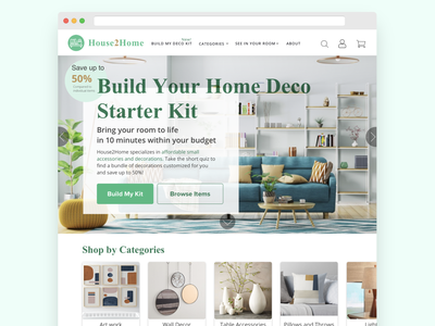 House2Home 5 Day Modified GV Design Sprint ui sprint website web design