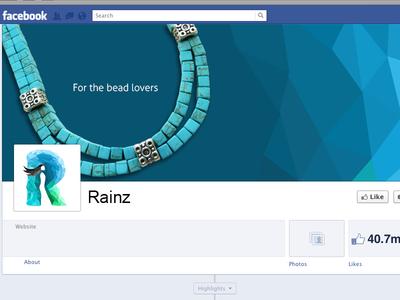 Facebook page of Rainz