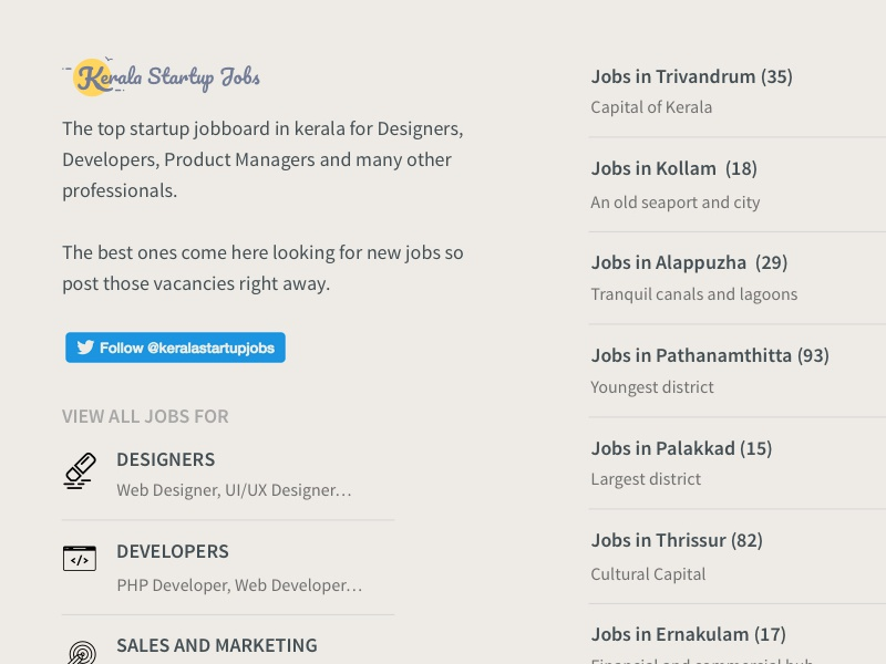 Getting the maximum out of the footer startup kerala footer